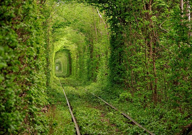 Tunel ljubavi, Kleven, Ukrajina